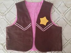 Sheriff Callie VEST sizes 2345 Inspired costume by Sonorali