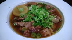 """""""Gyusuji Nikomi"""" Japanese Soup, Beef, Meals, Food, Power Supply Meals, Meal, Eten, Ox, Lunches"""
