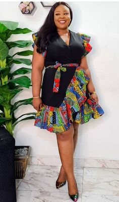 African Dresses For Kids, Latest African Fashion Dresses, African Print Dresses, African Print Fashion, Women's Fashion Dresses, African Attire, African Wear, Classy Gowns, African Print Dress Designs