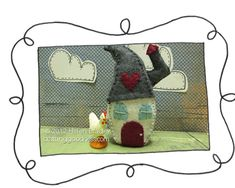 Cute felt house tutorial using a Mia drink mix container-Could be a gnome house         Labels: blend, brush, fur, impressionist, ipad, layers, mode, procedural drawing, Seurat, sketch club, sketc
