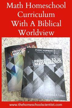 Math Homeschool Curriculum with a Biblical Worldview