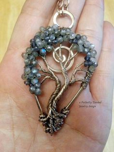 Probably one of the most beautiful Tree of Life pendants I've ever seen.