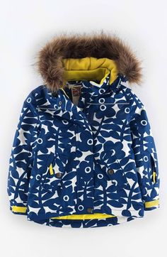 Mini Boden Waterproof Snow Jacket (Toddler Girls, Little Girls & Big Girls) available at #Nordstrom