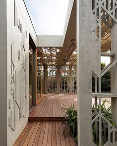 A really interesting take on an outdoor area.