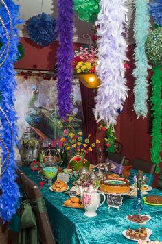 Peacock theme party