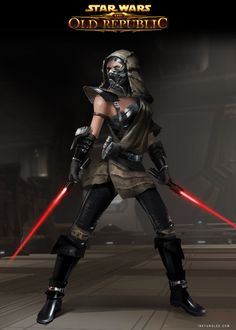 SWTOR_ Sith Inquisitor outfit, Anna Inkyung Lee
