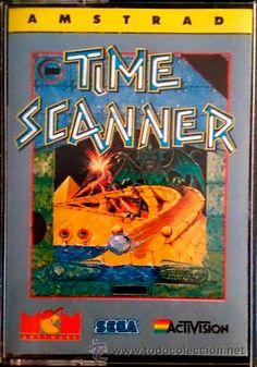 Juego Amstrad CPC Cinta - Time Scanner (1989) Español