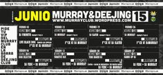 programación murrayclub junio