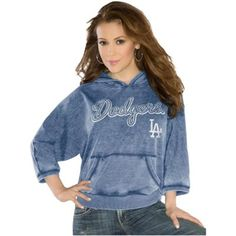 Touch by Alyssa Milano L.A. Dodgers Ladies Star Player Pullover Hoodie - Royal Blue