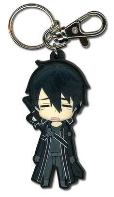 Sword Art Online Key Chain - Chibi Kirito Crying @Archonia_US