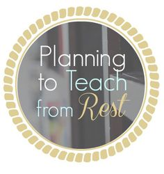 Taking a Birds' Eye View- one step when planning to teach from rest in your homeschool