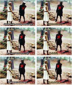 Monty Python - 'Tis but a scratch