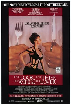 The Cook, The Thief, His Wife & Her Lover - 1989 - Peter Greenway
