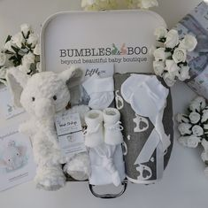 Stunning Baby Gift Hamper Baby Elephant Nursery, Nursery Toys, Baby Gift Hampers, Baby Hamper, Baby Shower Nappy Cake, Baby Shower Gifts, Gifts For New Parents, New Baby Gifts, New Mum Hamper