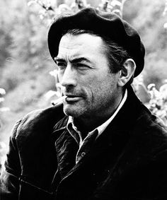 Gregory Peck ... a little scruffier than his usual look.