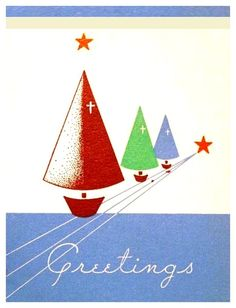 Old Christmas Post Cards — (512x800)