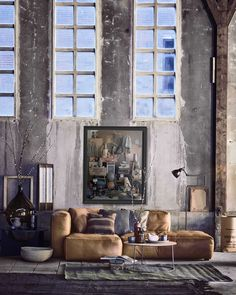 Industrial Interiors | Mi Armario en Ruinas. Decoration Trends 2016