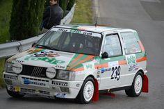 Fiat uno turbo rally car