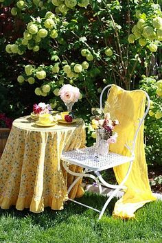 .Garden Yellows