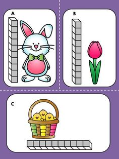Most Popular Teaching Resources: Easter Measurement Math Center - FREE