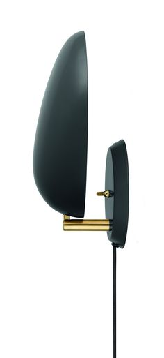 Gubi Grossman Cobra Wall Lamp jet-black
