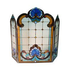 Fine Art Lighting Ltd. ZS305 Tiffany Fireplace Screen