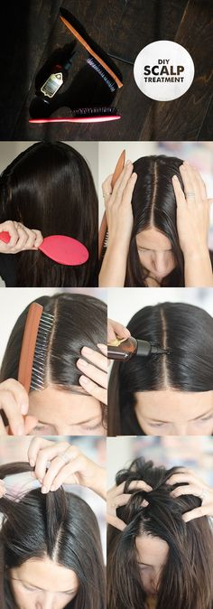 I LOVE a good scalp treatment. Think about how often you exfoliate your face (which should be about once a week, right?) and then think about the poor neglected other half of your head. How often d… Curly Hair Styles, Natural Hair Styles, Hair Scalp, Itchy Scalp, Dry Scalp, Dry Hair, Tips Belleza, Hair Health, Makeup Guide