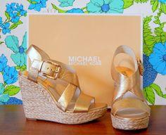 Take on spring in style! #michaelkors #springbreak #motherday #summerstyle #ootd #gold #heels #runway #fashion