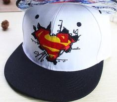 2016 New Fashion Superman Snap back Snapback Caps Hat Super Man Adjustable  Gorras Hip Hop Casual Baseball Cap Hats for Men Women c5ea41f61c7