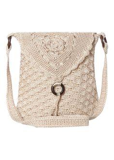 Fold Over Crochet Bag -