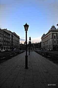 Early Krakow Street