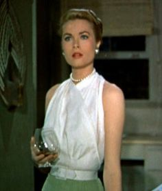 Grace Kelly-love this shirt