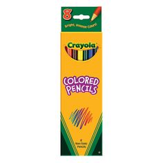 8 colorcrayolacolorpencils 8pcs - Crayola Sign