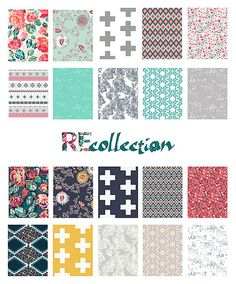 Recollection by Katarina Roccella for Art Gallery fabrics