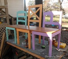 Free Plans to Build a Dining Chair Bench