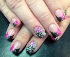 Acrylic nails by Trudy