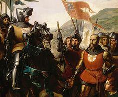 La bataille de Cocherel a lieu le jeudi1 16 mai 1364 entre Charles V de France dont l'armée est commandée par Bertrand Du Guesclin, et Charles II de Navarre