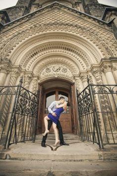 [PATRICIA & JASON   UNIVERSITY OF TORONTO ENGAGEMENT PHOTOGRAPHY] #smile #love #couple #dancepose #engagement