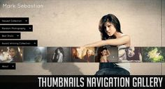 THUMBNAILS NAVIGATION GALLERY WITH JQUERY
