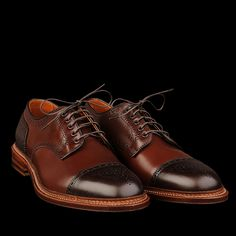 Alden x Unionmade Two Tone Cap Toe in Brown Regina Grain and Dark Brown Eclipse. The name kinda says it all, doesn't it?