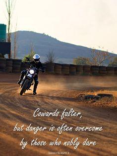 Taking a Ducati Scrambler Desert Sled around the track at the StofSkop flat track event (2017): www.tankgirls.co.za #SkinnyvanSchalkwyk #TankGirls #ChikitaProductions #StofSkop #FlatTrackRacing #DucatiScramblerDesertSled