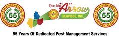 Arrow Services Inc celebrates 55 Years of dedicated Pest Management Services!