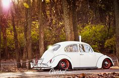 VW Bug low and slow