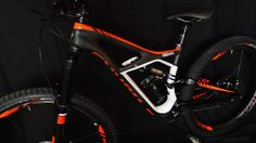 #sweet #mountain #bike #bicycle #orange #black #white For more great pics, follow www.bikeengines.com