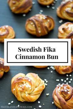 Recipe  Bake Swedish Cinnamon Buns, Kanelbullar for a successful Fika