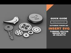 Autodesk Fusion 360 - Insert SVG - Turn Vector Images Into Objects Fusion 360, Cnc Software, Tip Jars, Go Shopping, 3 D, 3d Printing, Objects, Cad Cam, Diy Cnc