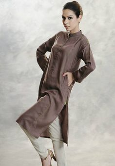 Want this tunic w/ pants. Looking for pattern. Casual Kurti Fashion 2012-13 | Casual Ladies Kurta / Tunic Fashion