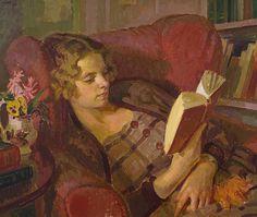 Lamb, Henry (Australian, British, 1883-1960) - The Artist's Wife