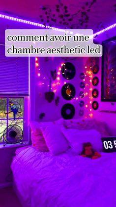 comment avoir une chambre aesthetic led