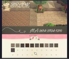 Autumn Animals, Animal Crossing Guide, Path Design, Motifs Animal, Brick Patterns, Art Reference, Custom Design, Geek Stuff, Coding